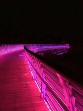 山东潍坊不锈钢复合管护栏灯光护栏来图定制图片