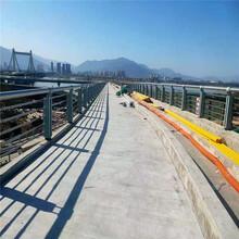 甘肅蘭州橋梁防撞護欄不銹鋼復合管護欄電議圖片