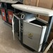 漢中小區垃圾桶果皮箱不銹鋼垃圾箱室外物業定制垃圾桶