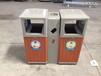 延安戶外垃圾桶景區公園鋼木果皮箱小區分類垃圾箱現貨