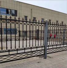 鐵藝圍欄護欄,小區建筑鐵藝柵欄,可定制圖片