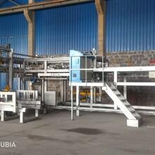 天津浩海机械生产全自动省人工自动缠膜预留叉车孔码垛机图片