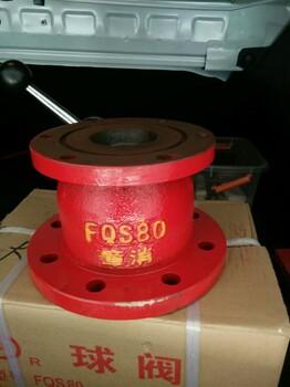 章消FQS80消防车消防球阀使用说明