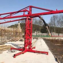 工地12米15米18米手動電動圓筒框架混凝土布料機內爬式布料機配件