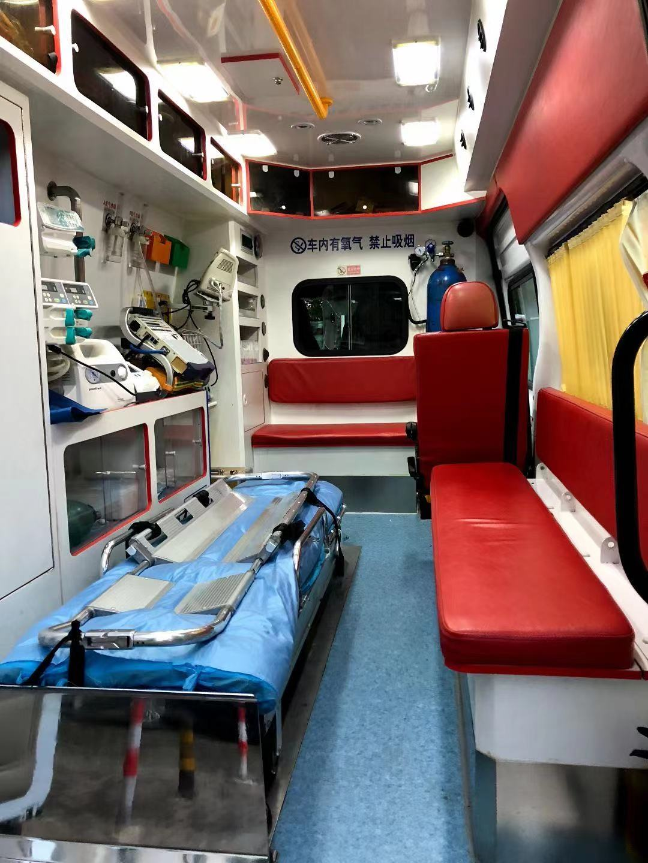 商丘跨省救護車轉院24小時在線