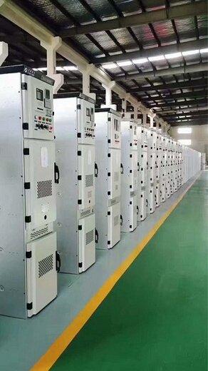 甘肅慶陽500寬中置柜KYN28A-12開關柜XGN450-12箱型固定式金屬封閉110KV預制艙