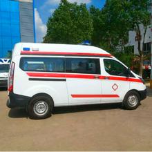 宜昌市新全順V362中軸中頂汽油監護型救護車