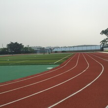江門塑膠跑道公司圖片