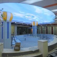 商場吊頂軟膜吊頂手機店燈箱美容店吊頂圖片