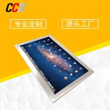 深圳觸控電腦一體機18.5寸防水五線電阻觸摸電腦工業平板電腦圖片