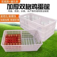 山东中兴鸡蛋筐塑料隔板蛋箱塑料鸡蛋运输筐图片
