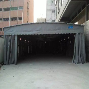 中赞西安厂家移动雨蓬,固定帆布棚,遮雨棚,彩蓬