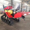 农用田园管理机座驾式履带推土多功能旋耕机