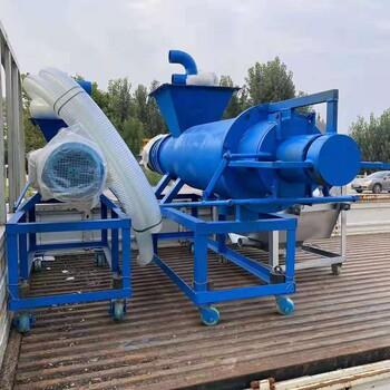 济宁润林供应螺旋挤压式粪便分离机养殖设备