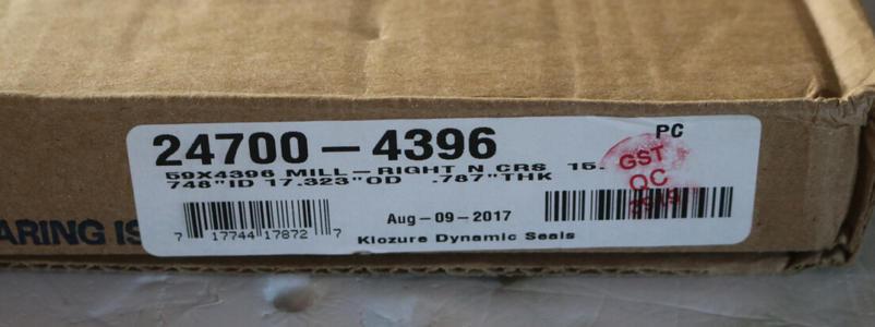 NUFLO流量計修理包10000-3521
