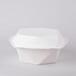 一次性可降解环保餐具甘蔗渣制品快餐盒外卖盒蛋糕托盘