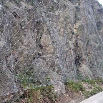 山體碎石防護網碎石主動防護網碎石防護網施工