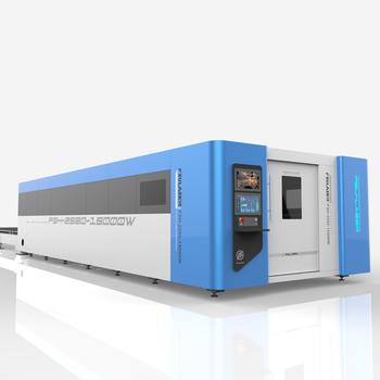 激光切割机山东飞速激光大型光纤激光切割机FSH-2580-12000W