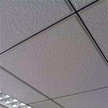 礦棉板吊頂天花板雨冰花吸音板噴砂圖片