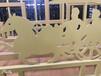 市政交通防撞機非護欄圍網圍欄黃金牡丹護欄