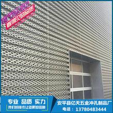 河北/厂家/批发/奥迪4s店外墙装饰穿孔铝挂板/报价