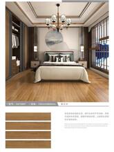 廣東佛山臥室房間木紋瓷磚仿木紋地板磚圖片
