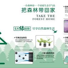 森林家家庭空气治理生态站