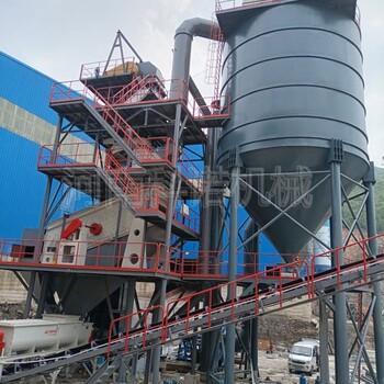 时产100吨制砂楼大中小型机制砂生产设备塔楼式固定破碎线