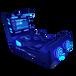 未來空間雙人劃船VR設備