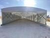 西安中贊推拉活動雨棚大型倉庫帳篷大型折疊帳篷移動雨棚