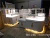 東莞龍泰珠寶展示柜定制廠家白色木質烤漆珠寶柜臺