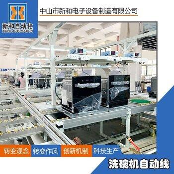 新和洗碗机自动化生产流水线
