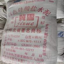 北京白水泥廠家白色硅酸鹽水泥勾縫用白水泥價格優惠圖片