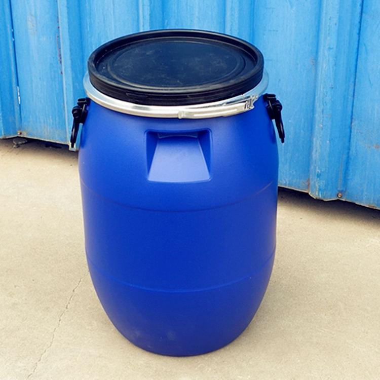 60升法兰塑料桶大口化工桶60kg塑料桶