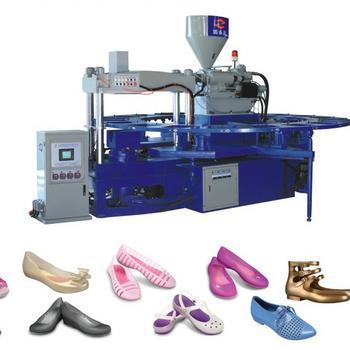 HM-528全自动单色水晶网鞋成型机(三角模)