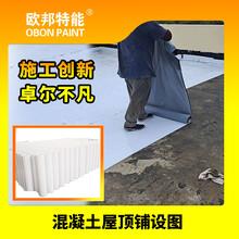 歐邦氟碳膜PVDF丁基自粘防水卷材圖片
