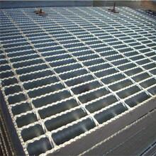 热浸锌钢格板电厂平台格栅钢结构楼梯踏步板污水处理厂踏步板图片