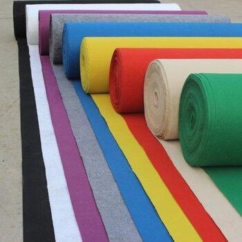 广州会展主场一次性覆膜阻燃展览地毯满铺效果好厂家批发哪里好