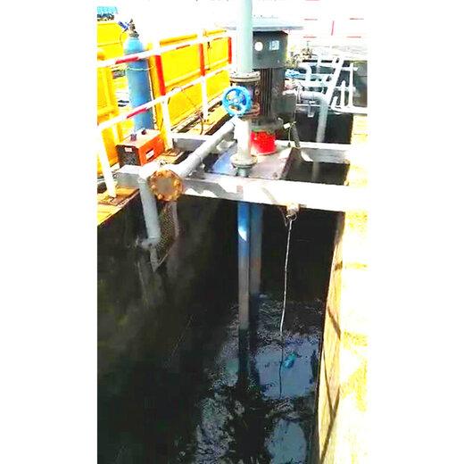 立式采沙泵使用图片液下渣浆泵
