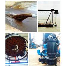 昆明4寸抽沙泵能抽大顆粒潛水吸沙泵圖片