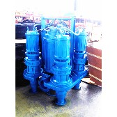 搅拌式潜水泥浆泵厂家河道清淤泵