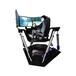 VR體驗館加盟VR六軸3屏動感賽車互動競賽三屏賽車模擬器