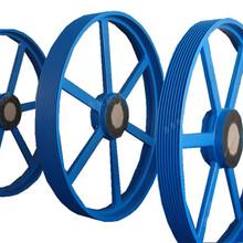 鼎泉机械球磨皮带轮SPC皮带轮电机厂用皮带轮图片
