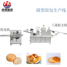 全自動高速面包生產線圖片