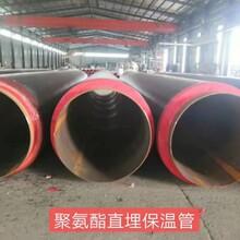 生產聚氨酯保溫管預制保溫管鋼套鋼保溫管架空保溫管圖片