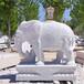 天然石材大象一對花崗巖大象鎮宅各場所門口擺件