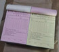 西鄉草圍送貨單印刷廠家新瑞名片設計印刷興圍表格印制商找萬得瑞