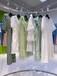 上海品牌折扣女裝剪標冬羽絨服慕希秋裝女裝品牌折扣店短袖