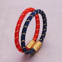 佐卡宏手工編織手繩九乘迦葉金剛繩本命年情侶手繩材料包圖片