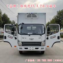 武威解放4米2的小型冷藏車銷售點圖片